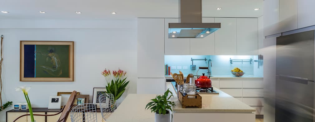 Cocinas de estilo moderno por CENTRAL ARQUITECTURA
