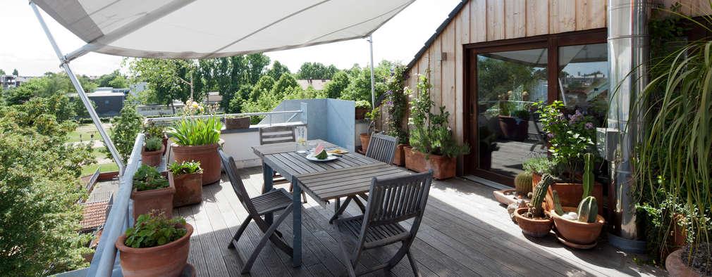 Terrazas de estilo  por raum.4 -  Die Meisterdesigner