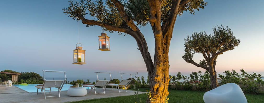 Jardines de estilo moderno por DFG Architetti