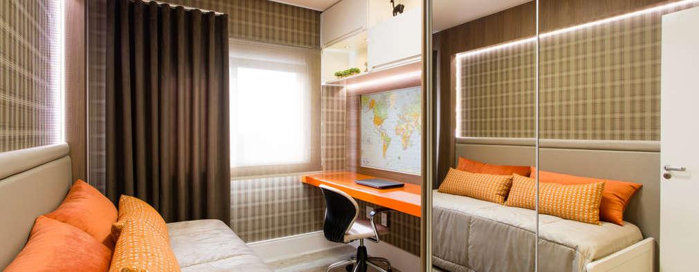 modern Bedroom by Apê 102 Arquitetura