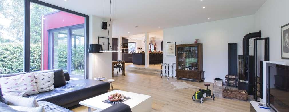 ห้องนั่งเล่น by Architekturbüro Prell und Partner mbB Architekten und Stadtplaner