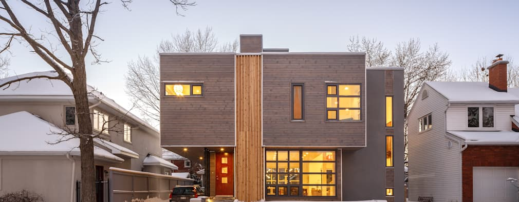 Wavell: modern Houses by Linebox Studio