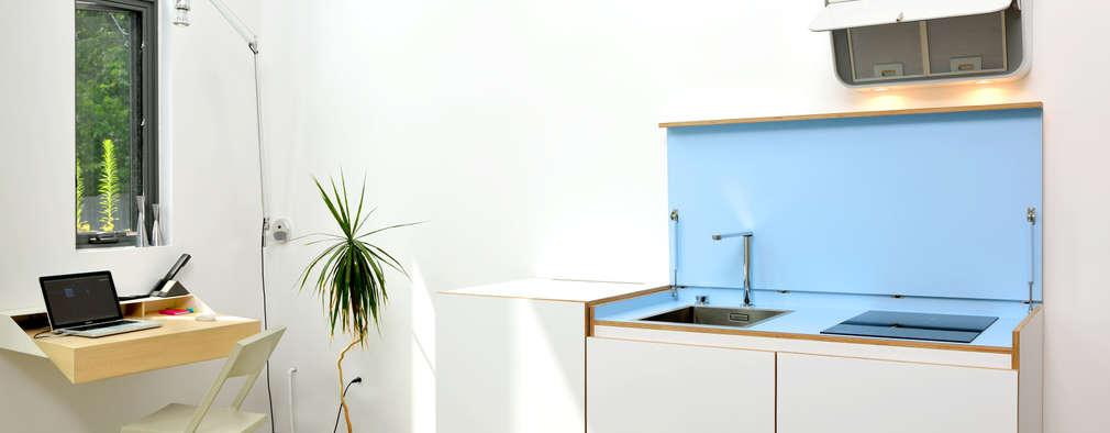 minimalistic Kitchen by Linebox Studio