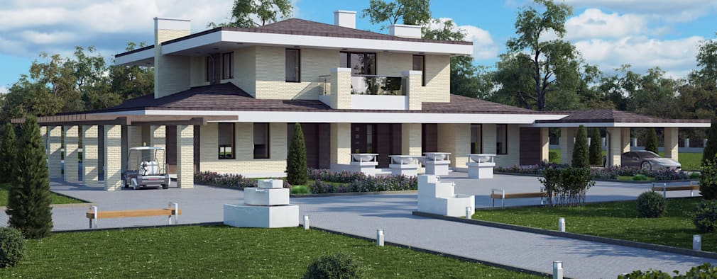 modern Houses by Vesco Construction