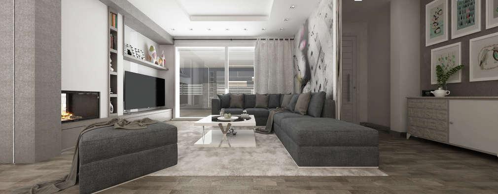 客廳 by De Vivo Home Design