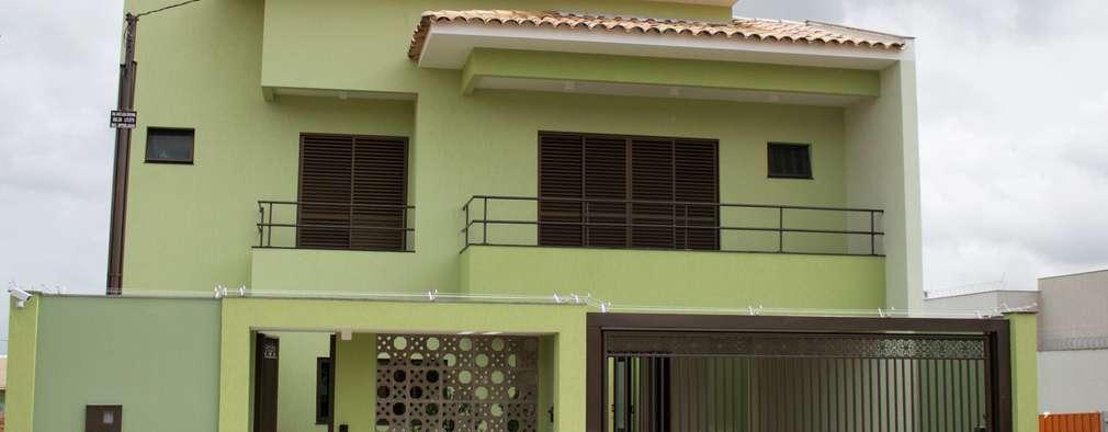 Nhà để xe/Nhà kho by Pz arquitetura e engenharia