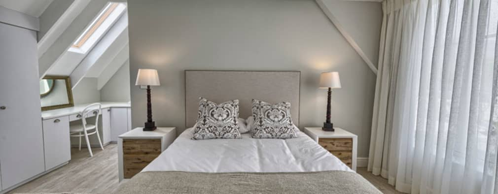 eclectic Bedroom by House Couture Interior Design Studio