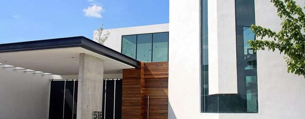 Casas de estilo industrial por Narda Davila arquitectura