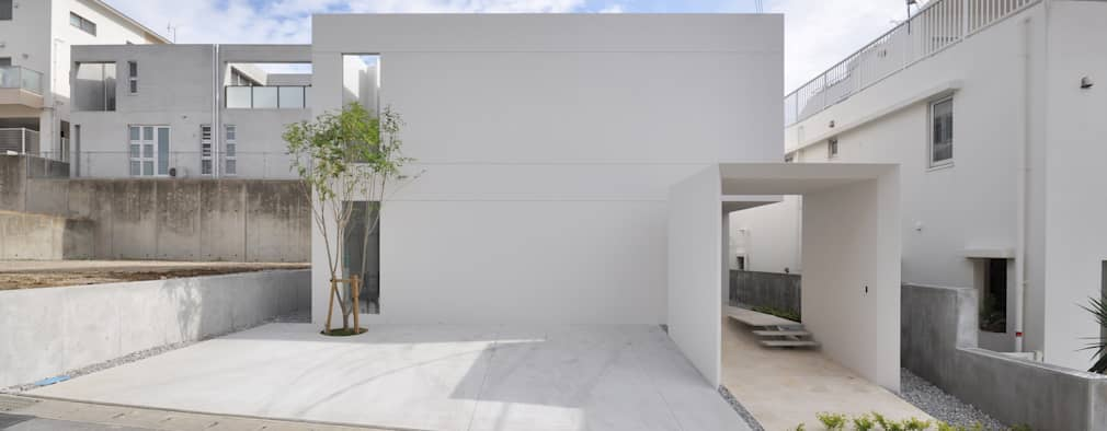 Casas modernas por 門一級建築士事務所