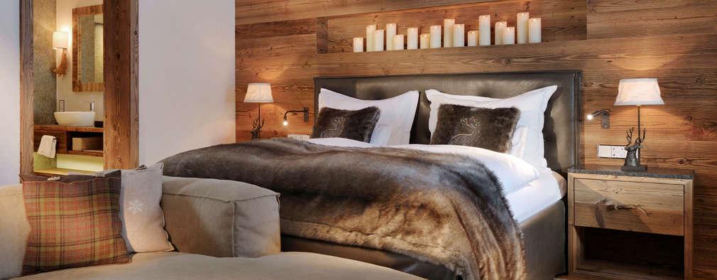rustikale schlafzimmer 10 ideen die du nicht verpassen darfst. Black Bedroom Furniture Sets. Home Design Ideas