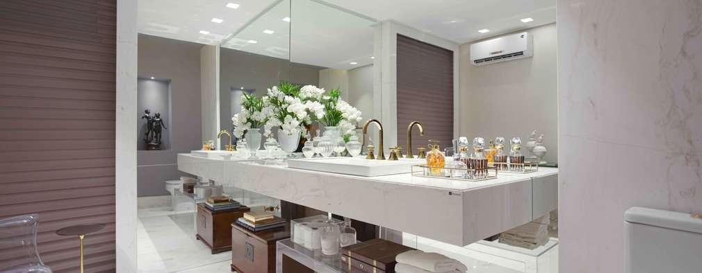 Ванные комнаты в . Автор – Ju Nejaim Arquitetura