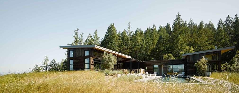 Casas de estilo moderno por Feldman Architecture