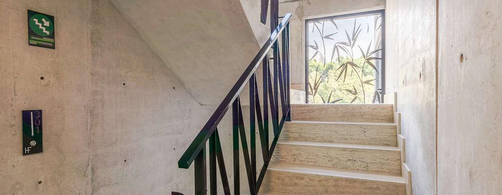 15 dise os de barandales para que tu escalera se vea - Barandales modernos para escaleras ...