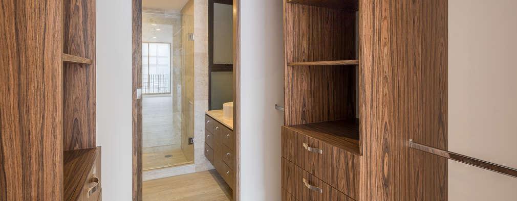 7 closets abiertos para mandarlos a hacer en tu casa for Ideas para hacer tu casa