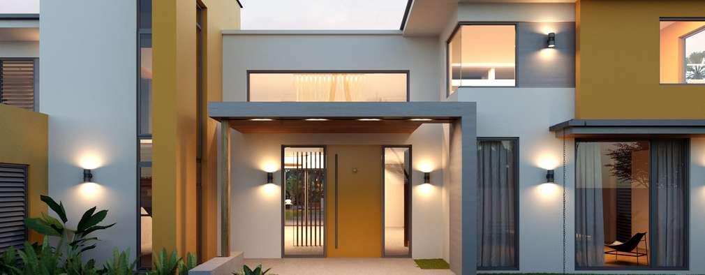 mediterranean Houses by Компания архитекторов Латышевых 'Мечты сбываются'