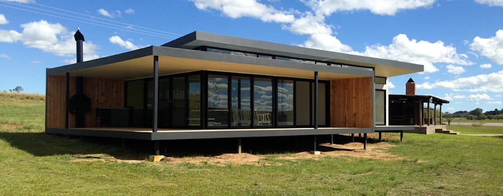 Three South African Container Homes