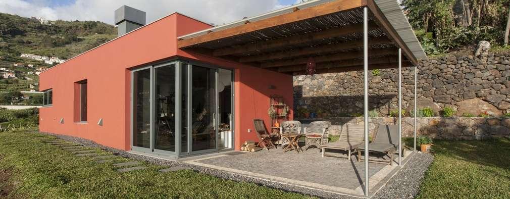 Casas de estilo minimalista por Mayer & Selders Arquitectura