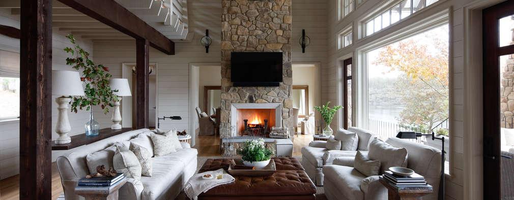 Гостиная в . Автор – Christopher Architecture & Interiors
