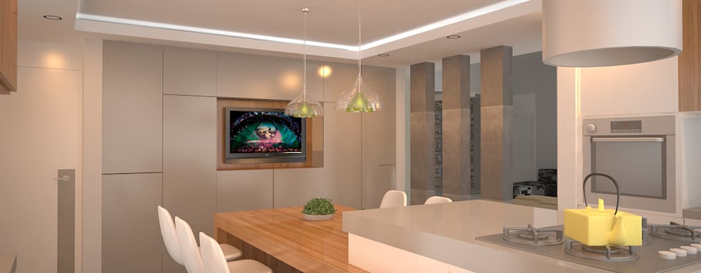 modern Kitchen by ARKIZA