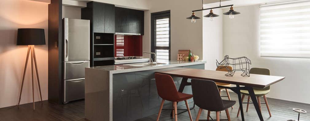 Cocinas abiertas para apartamentos pequeños