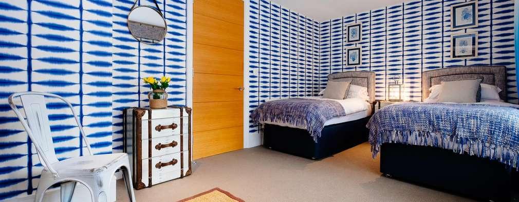 Dormitorios de estilo  por Perfect Stays