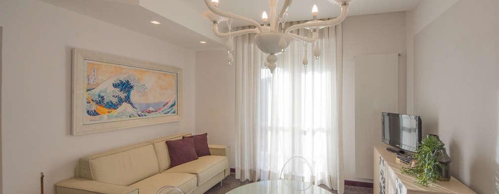 غرفة المعيشة تنفيذ Lella Badano Homestager