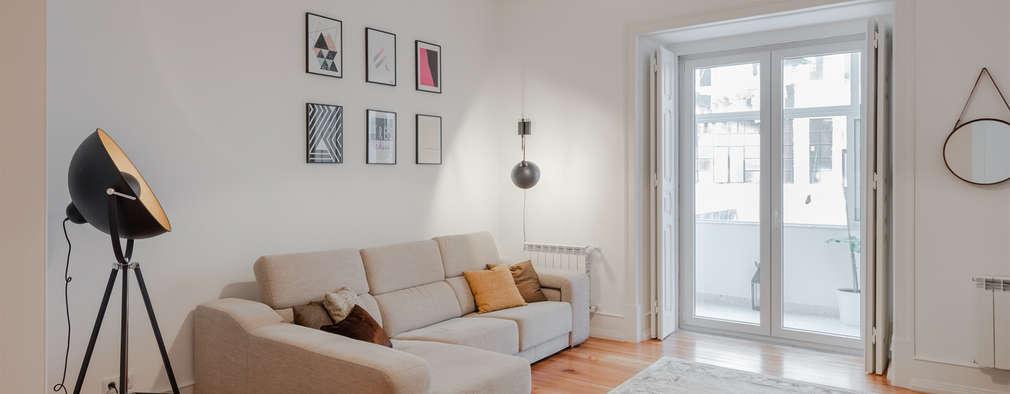 Sala de estar | Living room: Salas de estar modernas por FMO ARCHITECTURE