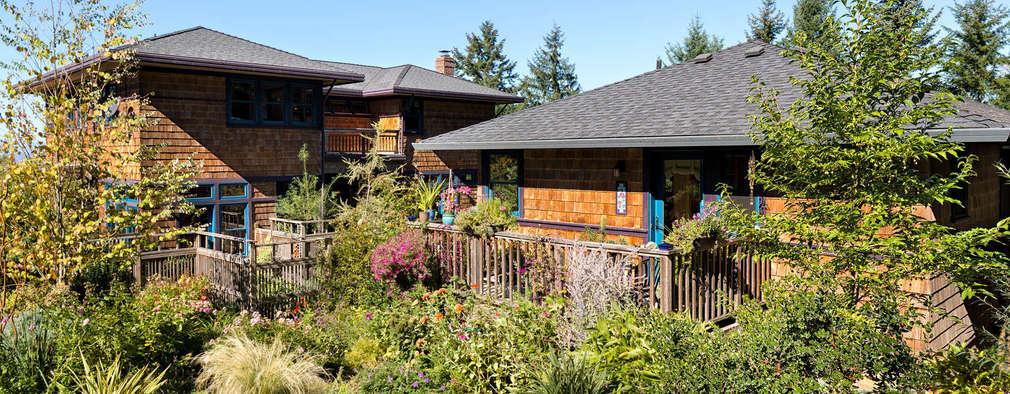 Patricia K Emmons - Rural Oregon Craftsman Home - Exterior 1:  Landhaus von Chibi Moku