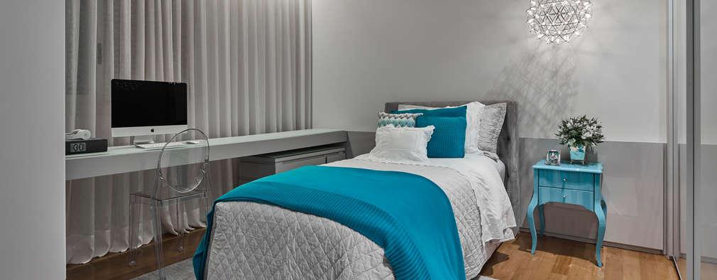 modern Bedroom by Alessandra Contigli Arquitetura e Interiores
