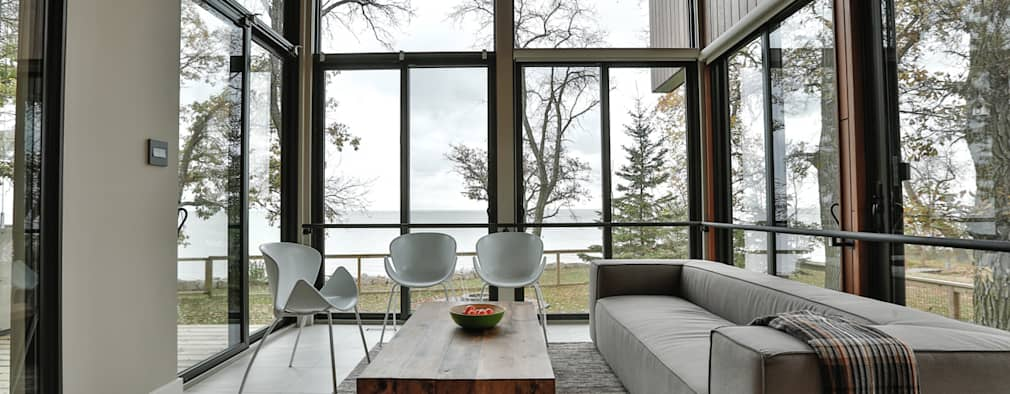 modern Conservatory by Unit 7 Architecture