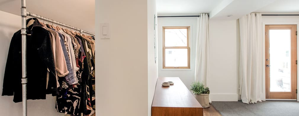Modern Closet: modern Bedroom by Unit 7 Architecture