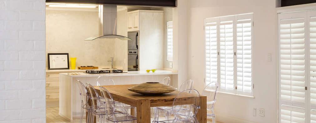New dining room: minimalistic Dining room by Deborah Garth Interior Design