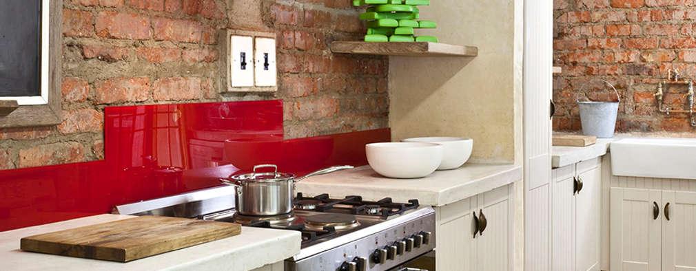 Renovated cooking area: rustic Kitchen by Deborah Garth Interior Design