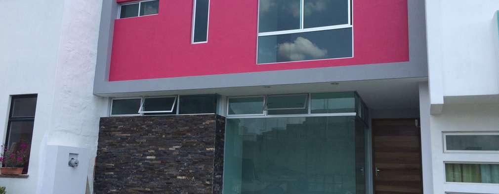 Fachadas de casas de dos pisos for Casas minimalistas planta baja