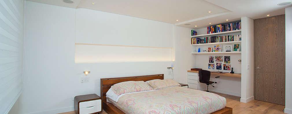modern Bedroom by Bloque B Arquitectos