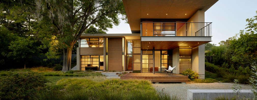 10 fachadas de casas modernas inspiradoras for Casas modernas vintage
