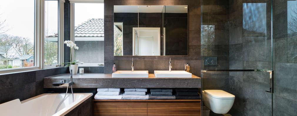 Master Ensuite: modern Bathroom by Alice D'Andrea Design