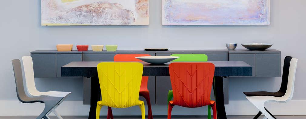 modern Dining room by Chibi Moku