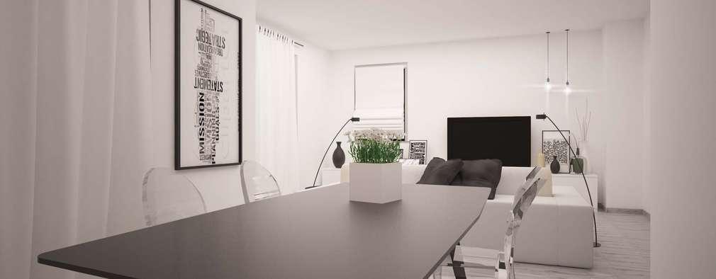 Comedores de estilo minimalista por LAB16 architettura&design