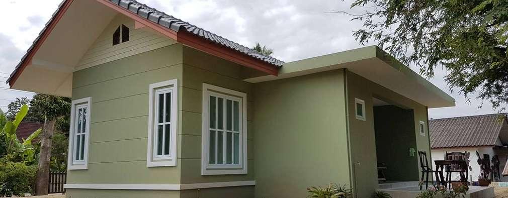 บ้านชั้นเดียว:   by หจก.วรชานนท์ ก่อสร้าง