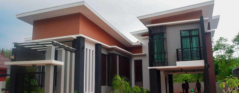 บ้านอาจารย์สุเมธ พนิตมนตรี :  บ้านและที่อยู่อาศัย by SignatureDesign