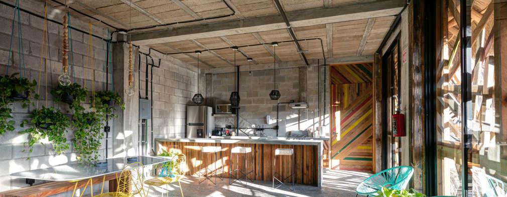 tropical Kitchen by MORADA CUATRO
