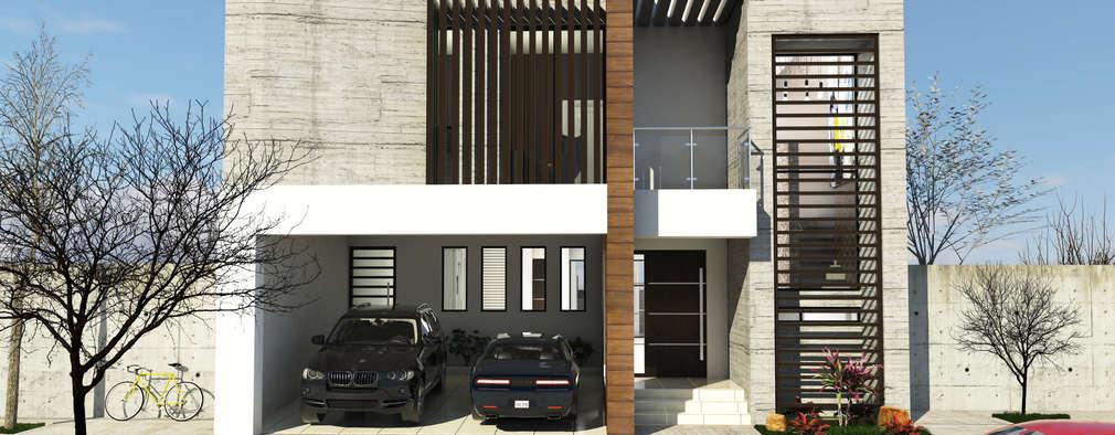 Casas de estilo moderno por RJ Arquitectos
