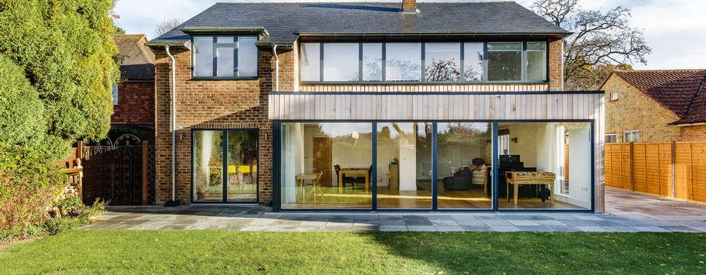 Projekty, nowoczesne Domy zaprojektowane przez Adam Knibb Architects
