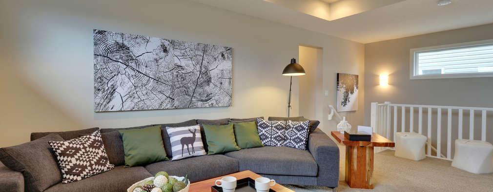Salas de estilo moderno por Sonata Design