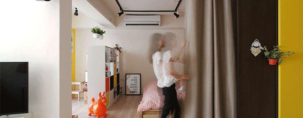 الممر والمدخل تنفيذ 一葉藍朵設計家飾所 A Lentil Design