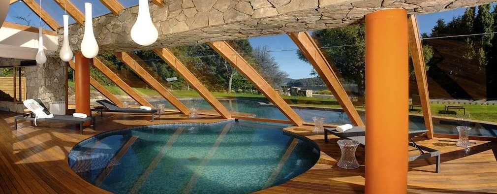 Hotel Rochester: Spa de estilo moderno por Sidoni&Asoc
