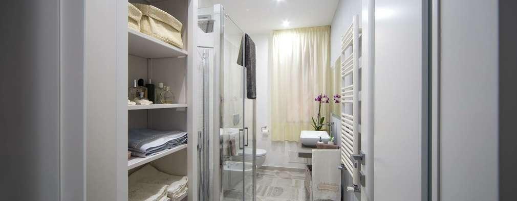 casa fenice bagno in stile in stile moderno di melania de masi architetto