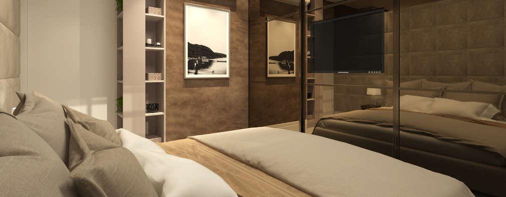 Las mejores ideas para ubicar la tv dentro del dormitorio - Television dormitorio ...