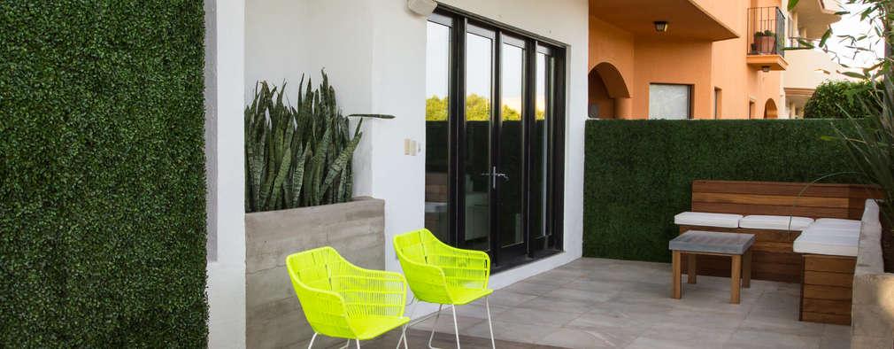 Terrazas de estilo  por TAMEN arquitectura